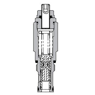 Eaton Vickers 1CLLR Screw-in Cartridge Dual Relief Valve