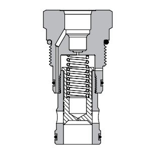 Eaton Vickers LEV402 Screw-in Logic Element Cartridge Valve